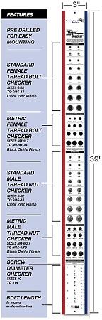 Wall Mounted Thread Checker Bolt Screw Amp Nut