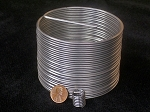 Helical Thread Insert: M33 x 3.5, 49.5mm (1.5xD) Length, Free Running, Pkg. of 1