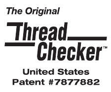 Thread Checker Patent Logo