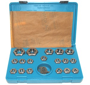 Split Die Thread Repair Kit: Metric - Master