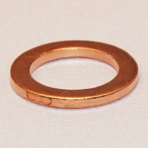 Heavy Duty Copper Washer: 9/16 ID (Pkg of 20)