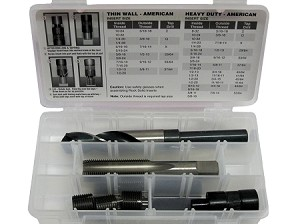 Key Locking Thread Repair C-Kit: M20 x 1.5, Heavy Duty, Steel
