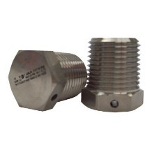 "1/2"" NPT Exd Breather Drain: Nickel Plated Brass"