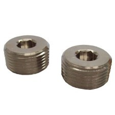 "1/2"" NPT Exd Stopping Plug: 316 Stainless Steel (Type D)"