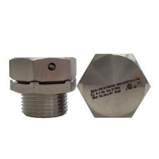 "1/2"" NPT Exe Breather Drain: 316 Stainless Steel"