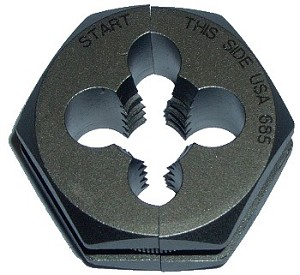 M10 x 1 Split Die Thread Chaser