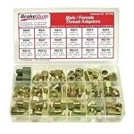 BrakeQuip M/F Thread Adapter Assortment Kit